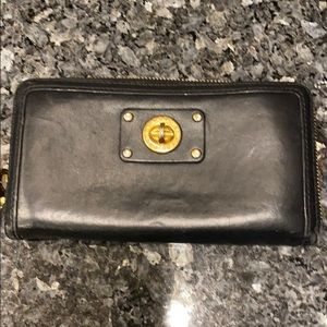 Authentic Marc by Marc Jacobs black leather wallet